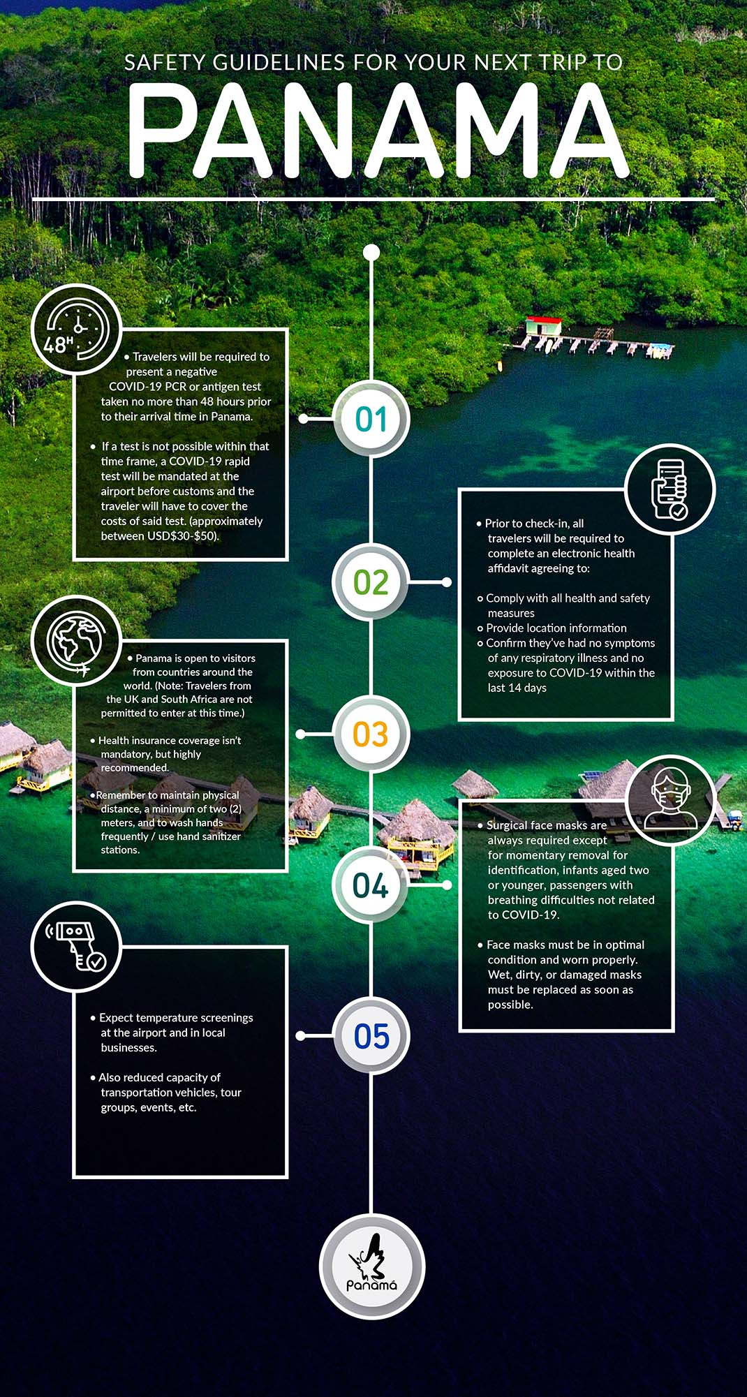 Safety Guidelines for your next trip to Panama